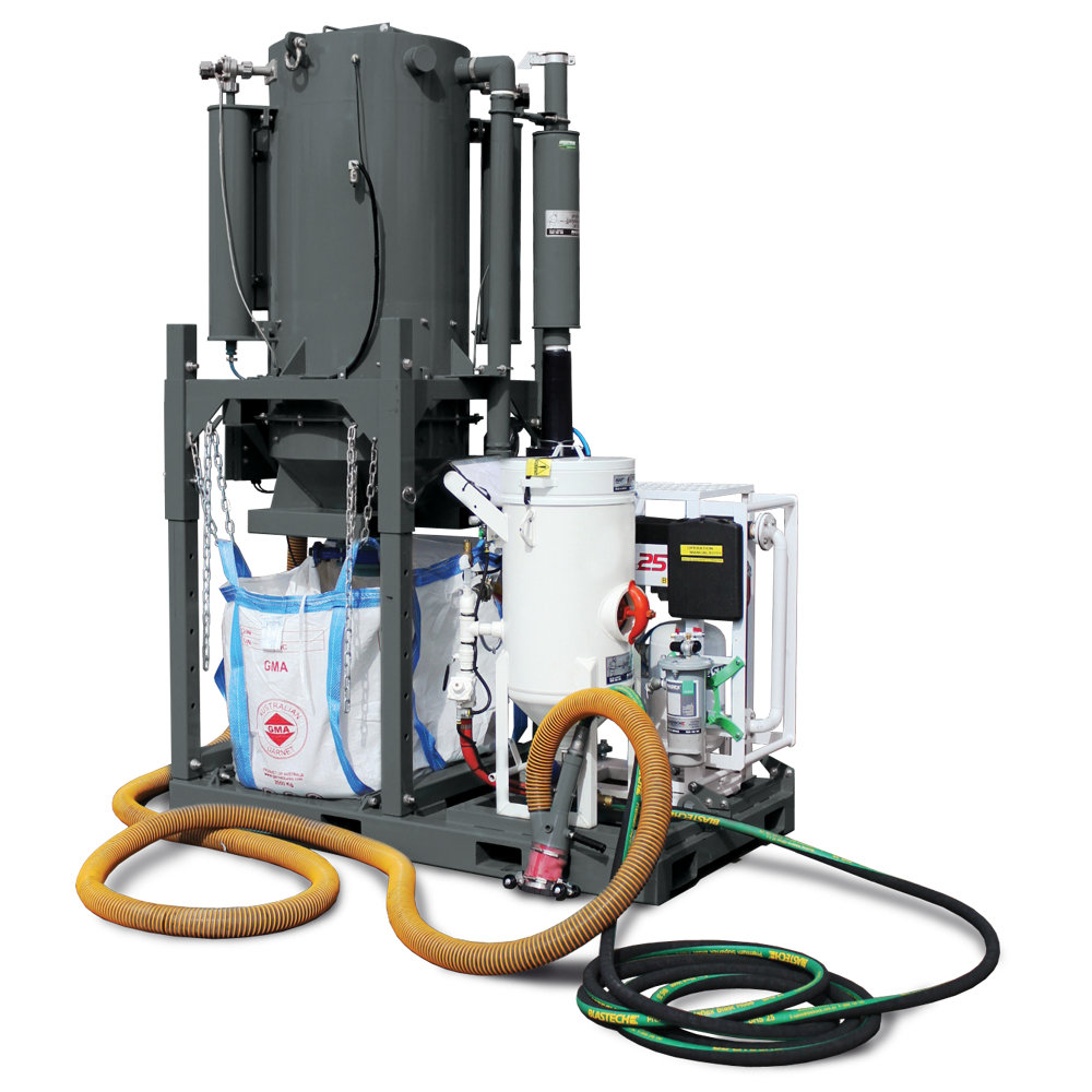 Electric Skid Mounted Vacuum System - Vacuload Series 6 for sale hire