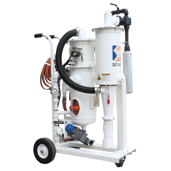 Mini Blast and Vacuum Recovery System