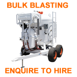 bulk blaster hire enquire